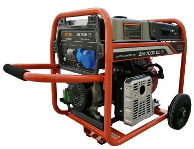 Дизельный генератор Mitsui Power ZM 7000 DE
