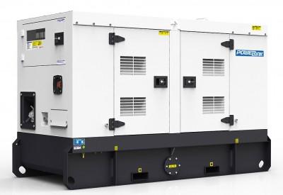 Дизельный генератор Power Link GMS20PX в кожухе с АВР