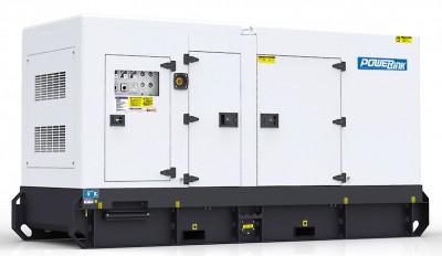 Дизельный генератор Power Link GMS200C в кожухе