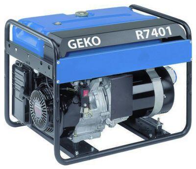 Бензиновый генератор Geko R 7401 E-S/HEBA с АВР