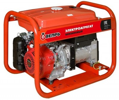 Бензиновый генератор Вепрь АБП 7/4-T400/230 ВХ