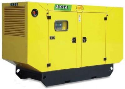 Дизельный генератор Aksa AC-170 в кожухе