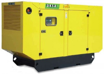 Дизельный генератор Aksa AC-350 в кожухе с АВР