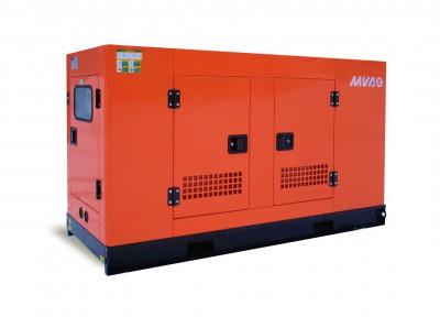 Дизельный генератор MVAE АД-10-400-АР в кожухе с АВР