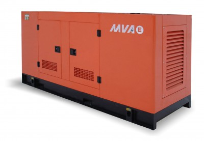 Дизельный генератор MVAE АД-200-400-АР в кожухе с АВР