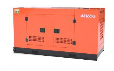 Дизельный генератор MVAE АД-30-400-АР в кожухе с АВР