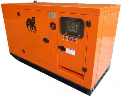 Дизельный генератор Азимут АД 30-Т400 в кожухе