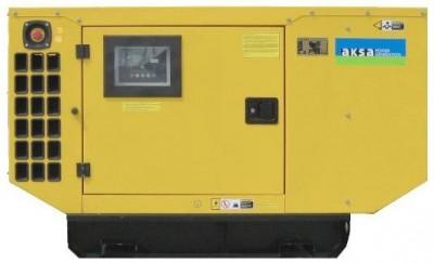 Дизельный генератор Aksa AJD 200 в кожухе с АВР