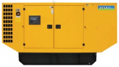 Дизельный генератор Aksa AP 110 в кожухе