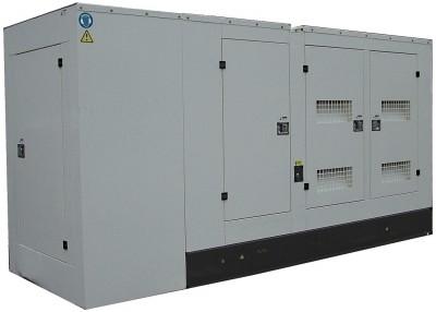 Дизельный генератор АМПЕРОС АД 360-Т400 P (Проф) в кожухе