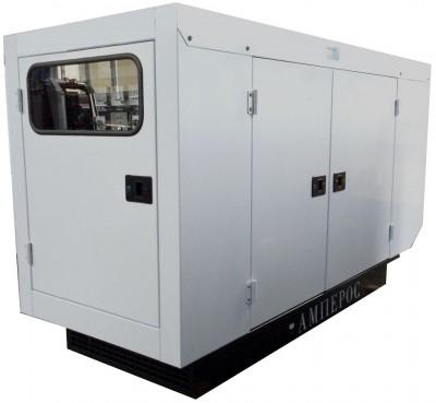 Дизельный генератор АМПЕРОС АД 40-Т400 P (Проф) в кожухе