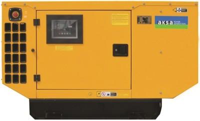 Дизельный генератор Aksa AP 33 в кожухе с АВР