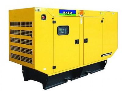 Дизельный генератор Aksa APD-43C в кожухе с АВР