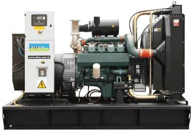 Дизельный генератор Aksa AVP-385 с АВР