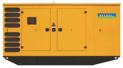 Дизельный генератор Aksa AVP-505 в кожухе с АВР