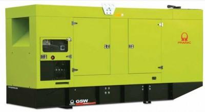 Дизельный генератор Pramac GSW 415 V в кожухе с АВР
