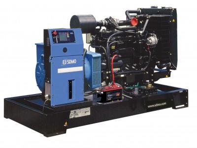 Дизельный генератор SDMO J130K с АВР