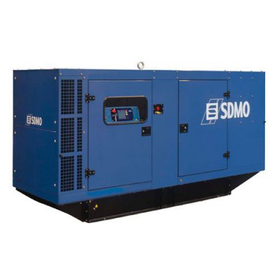 Дизельный генератор SDMO J200K в кожухе с АВР