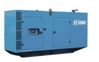 Дизельный генератор SDMO V 275C2 в кожухе с АВР