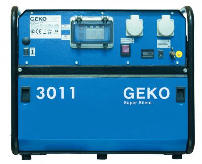 Бензиновый генератор Geko 3011 E-AA/HEBA SS с АВР