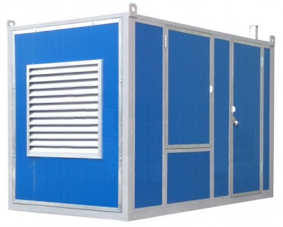 Дизельный генератор Atlas Copco QIS 10 в контейнере с АВР