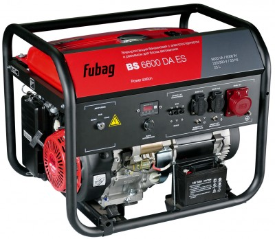 Бензиновый генератор Fubag BS 6600 DА ES