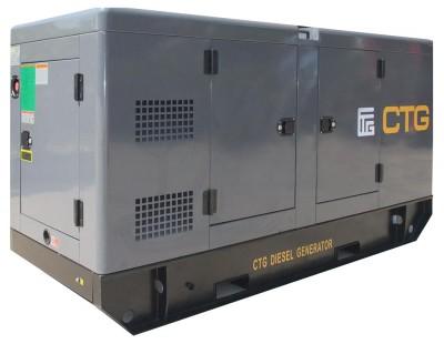 Дизельный генератор CTG AD-415SD в кожухе