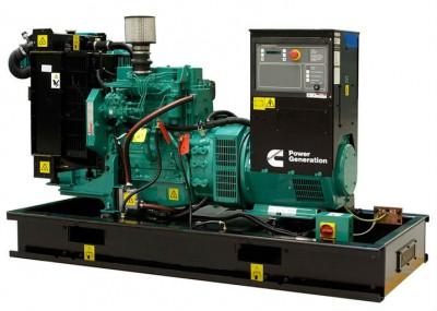 Дизельный генератор Cummins C55D5 с АВР