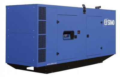 Дизельный генератор SDMO V700C2 в кожухе с АВР