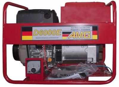 Дизельный генератор AMG D 6000E с АВР
