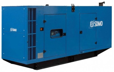 Дизельный генератор SDMO D630IV в кожухе