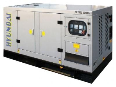 Дизельный генератор Hyundai DHY80KSE
