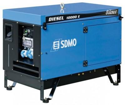 Дизельный генератор SDMO DIESEL 10000 E AVR SILENCE с АВР