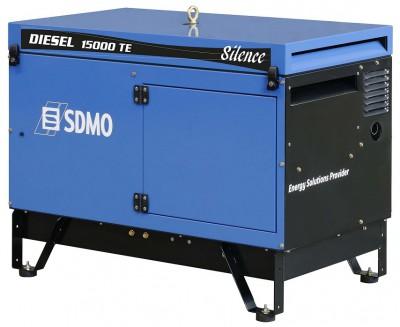 Дизельный генератор SDMO DIESEL 15000 TE AVR SILENCE