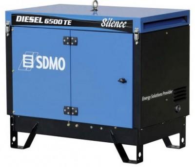 Дизельный генератор SDMO DIESEL 6500 TE AVR SILENCE с АВР