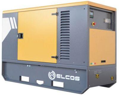 Дизельный генератор Elcos GE.PK.011/010.SS с АВР