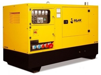 Дизельный генератор Gesan DPAS 90 E