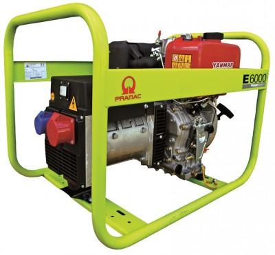 Дизельный генератор Pramac E6000 3 фазы
