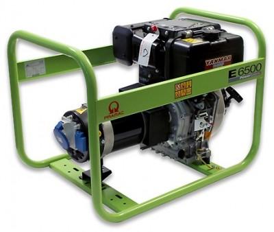 Дизельный генератор Pramac E6500