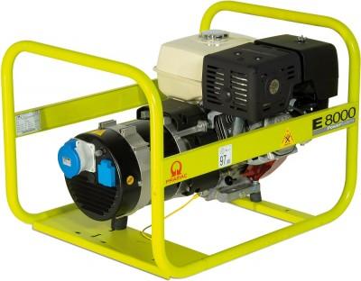 Бензиновый генератор Pramac E8000 3 фазы