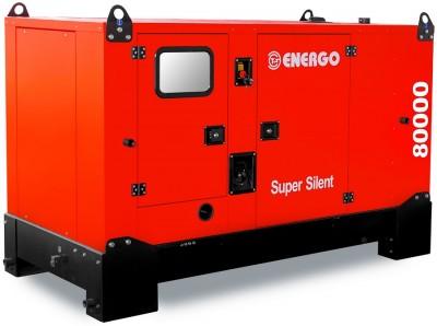 Дизельный генератор Energo EDF 80/400 IV S с АВР