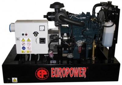 Дизельный генератор EuroPower EP 123 DE