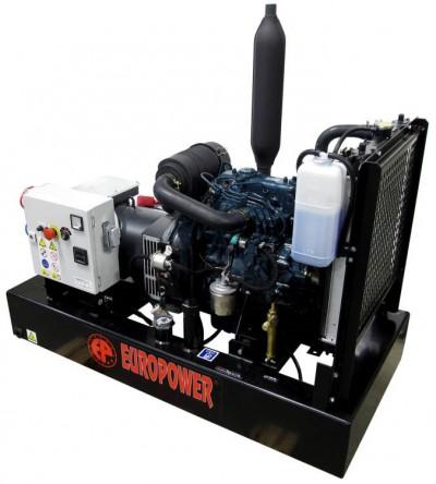 Дизельный генератор EuroPower EP 9 TDE