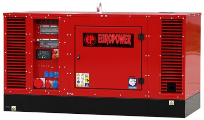 Дизельный генератор EuroPower EPS 34 TDE с АВР