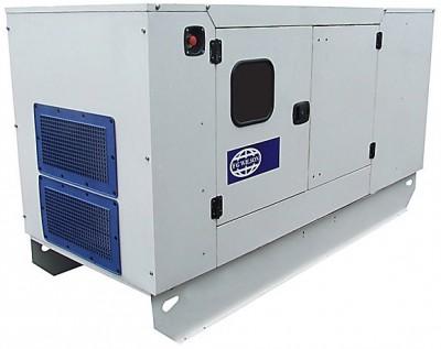Дизельный генератор FG Wilson F17.5-1 в кожухе