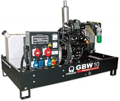 Дизельный генератор Pramac GBW 10 Y 1 фаза