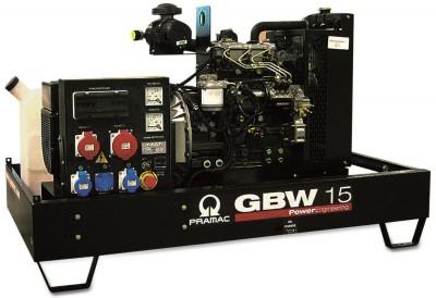 Дизельный генератор Pramac GBW 15 Y 1 фаза с АВР