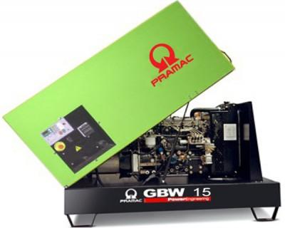 Дизельный генератор Pramac GBW 15 Y 1 фаза в кожухе