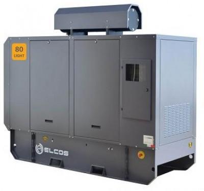 Дизельный генератор Elcos GE.AI.080/075.LT с АВР
