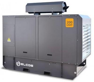 Дизельный генератор Elcos GE.PK.220/200.LT с АВР